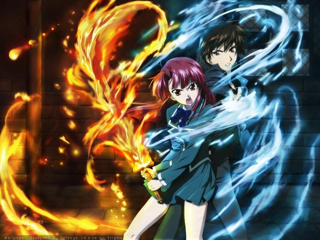 Anime Review: Kaze No Stigma