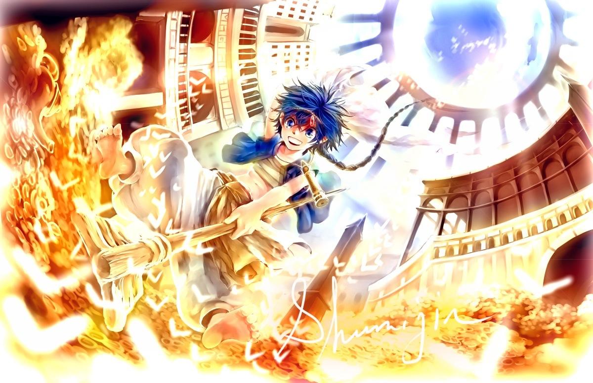 Anime Review Magi The Labyrinth Of Magic SayuriCero