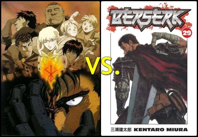 Seinen Manga vs. Seinen Anime - Manga Olympics for Bloggers (Seinen/Shounen Round 1/part 2)