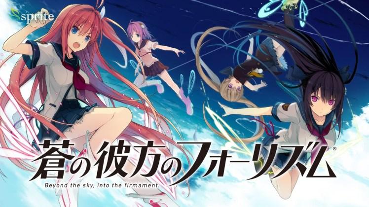 Ao no Kanata no Four Rhythm Anime